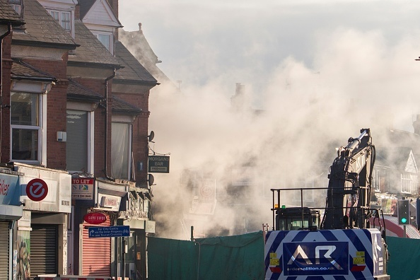 Explosion in Leicester City