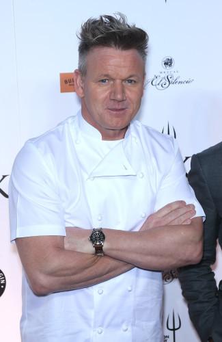Grand Opening of Gordon Ramsey's Hells Kitchen - Las Vegas
