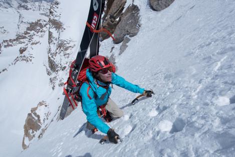 Hilaree O'Neill_ Papsura Expedition 2017.  Himachal Pradesh,  India.
