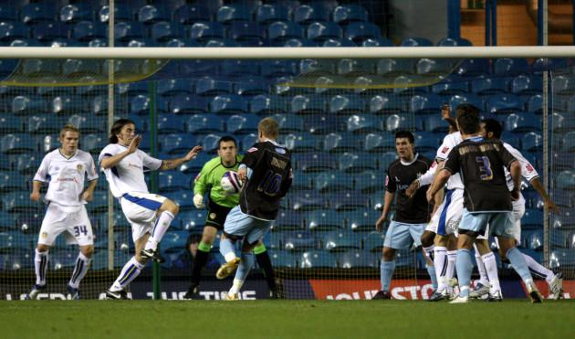 Soccer - Johnstone's Paint Trophy - Southern Section - Quarterfinals - Leeds United v Bury - Elland Road