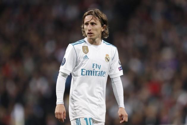 UEFA Champions LeagueReal Madrid v Paris Saint-Germain