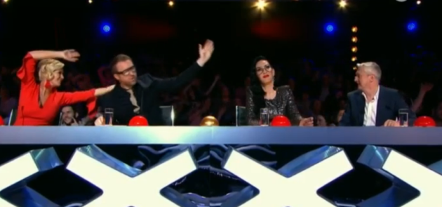 The thirst was real for Lucy Kennedy's golden buzzer pick on