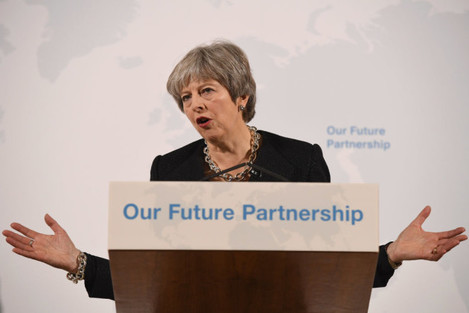 The Prime Minister Delivers Speech On Britain's Economic Future With The EU