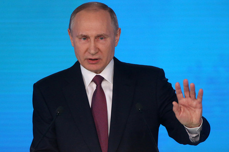 Vladimir Putin Makes Annual State To The Nation Address