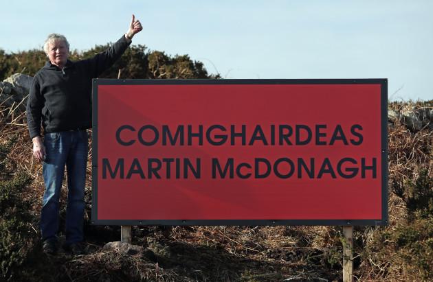 Martin McDonagh billboards
