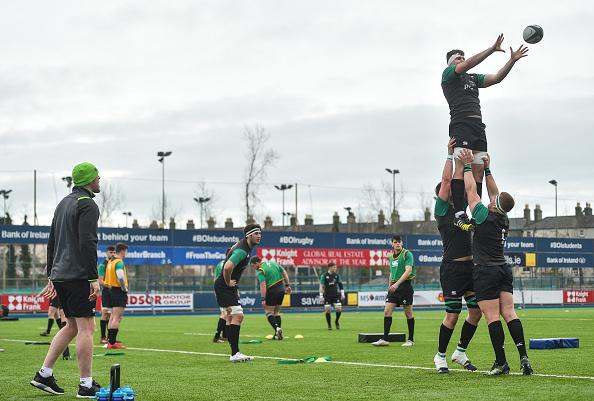 Ireland U20 v Leinster A - Friendly