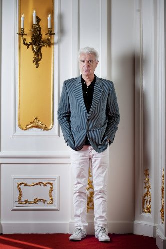 David Byrne Photo Session - Amsterdam