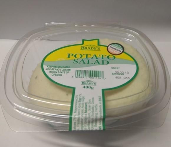 Bradys Potato Salad 400g