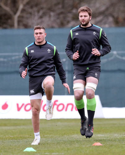 Jordan Larmour and Iain Henderson