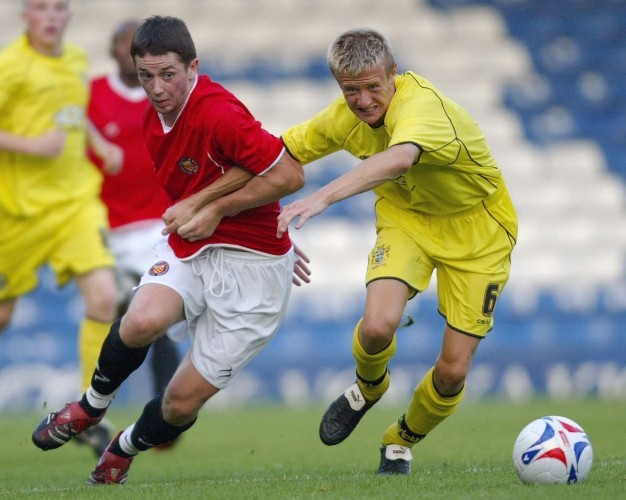 Soccer - Friendly - Bury v FC United - Gigg Lane