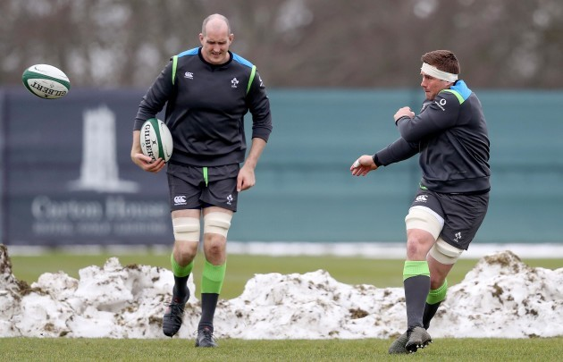 Devin Toner and CJ Stander