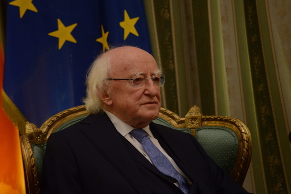 President of the Republic of Ireland Michael Daniel Higgins