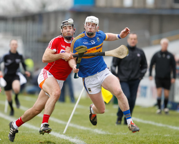 Billy McCarthy of Tipperary in action against Tim O'Mahony
