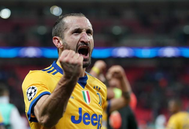 SOCCER: MAR 07 Champions League - Juventus at Tottenham Hotspur