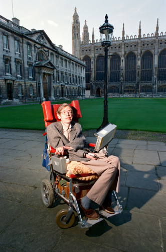 Dr Stephen Hawking, 1988
