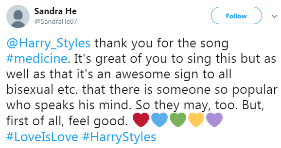 People are absolutely convinced that Harry Styles' new track is his