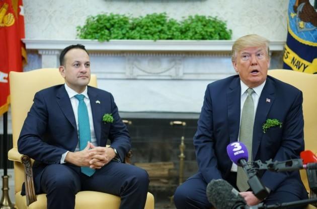 US-IRELAND-DIPLOMACY-TRUMP-VARADKAR