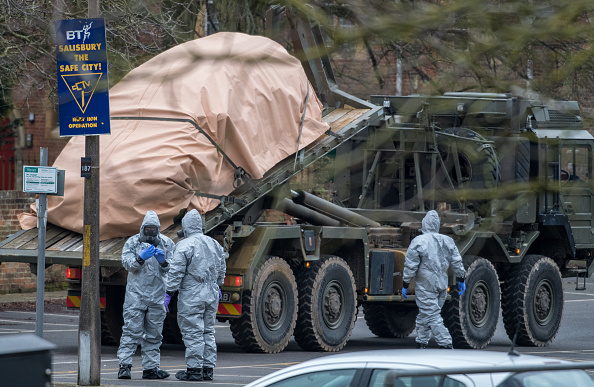 British Army Deployed To The Scene Of Spy's Poisoning