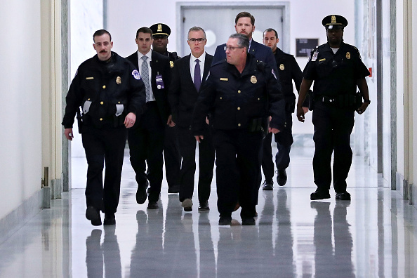 Deputy FBI Director Andrew McCabe Interviewed By House Judiciary Committee