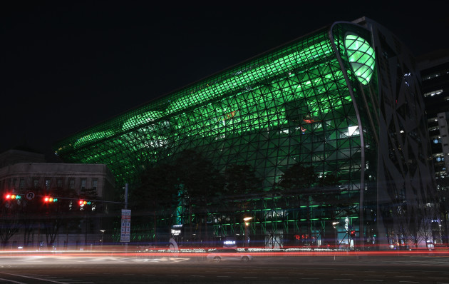 CITY HALL IN SEOUL, SOUTH KOREA, JOINS TOURISM IRELAND'S GLOBA