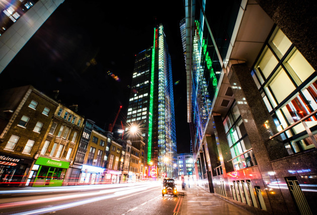 HERON TOWER IN LONDON JOINS TOURISM IRELAND'S GLOBAL GREENING