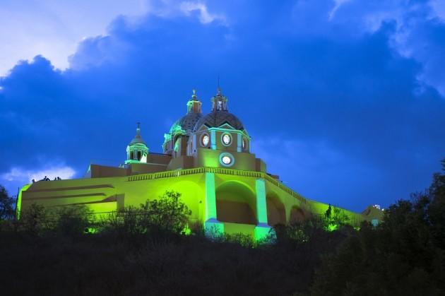 IGLESIA DE NUESTRA SEÑORA DE LOS REMEDIOS IN CHOLULA, MEXICO, J