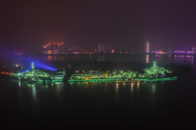 JIANGXIN ISLET IN WENZHOU, ZHEJIANG PROVINCE (CHINA), JOINS TOUR
