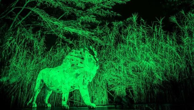 TAJI THE LION STATUE IN MOUNT KENYA NATIONAL PARK JOINS TOURISM