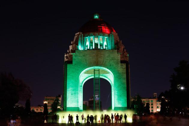 MONUMENTO A LA REVOLUCIÓN, MEXICO CITY, JOINS TOURISM IRELAND