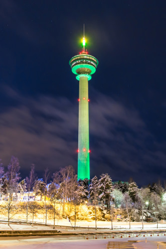 NÄSINNEULA (OBSERVATION TOWER) IN TAMPERE, FINLAND, JOIN TOURIS