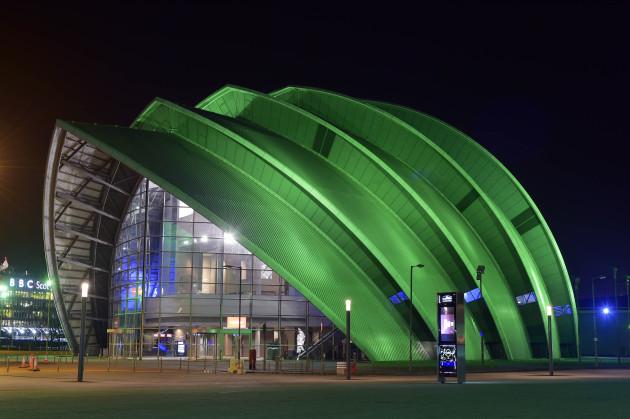 SEC ARMADILLO IN GLASGOW, SCOTLAND JOINS TOURISM IRELAND'S GLO
