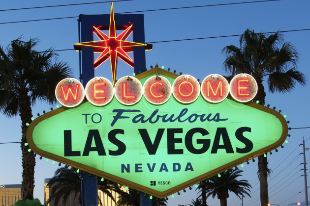 THE 'WELCOME TO FABULOUS LAS VEGAS' SIGN JOINS TOURISM IRELA
