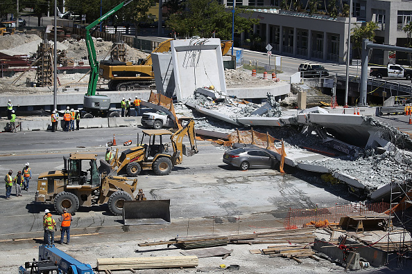 At Least 6 Dead After Collapse Of Pedestrian Bridge In Miami