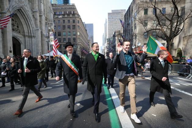 Taoiseach visits United States of America