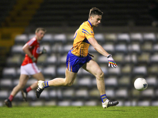Clare's Jamie Malone in action