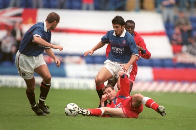 Soccer - UEFA Cup - First Qualifying Round First Leg - Shelbourne v Rangers