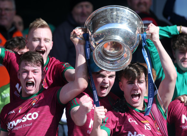 St. Ronan's College celebrate winning
