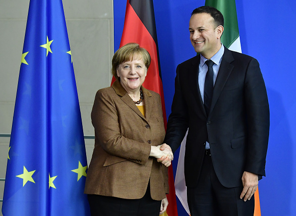 GERMANY-IRELAND-EU-DIPLOMACY