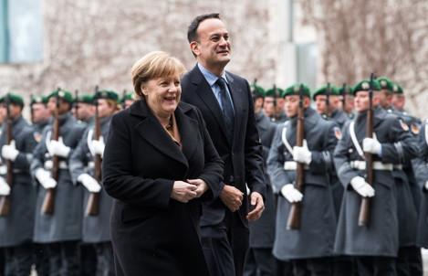 Irish PM Leo Varadkar in Berlin