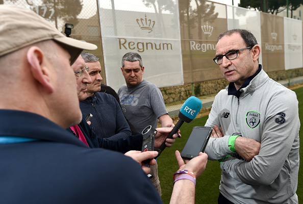 Republic of Ireland Squad Training & Press Conference