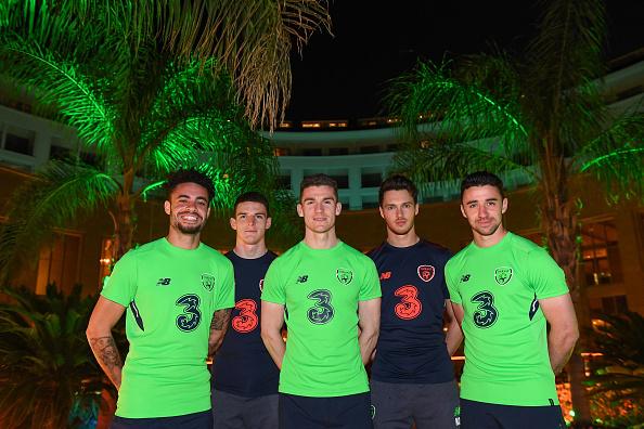Republic of Ireland Squad Training & Press Conference