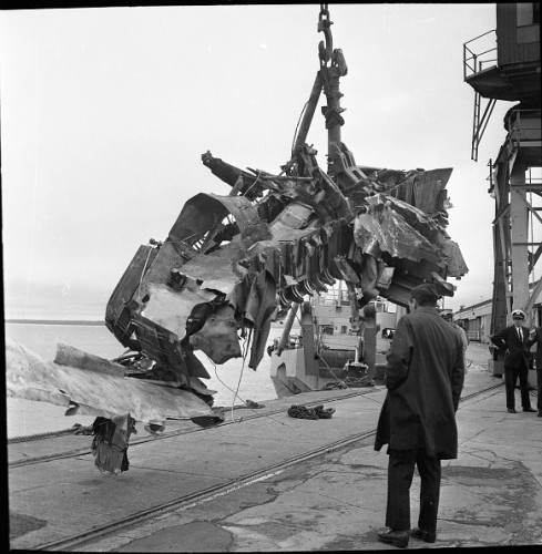 Vickers Viscount plane crash