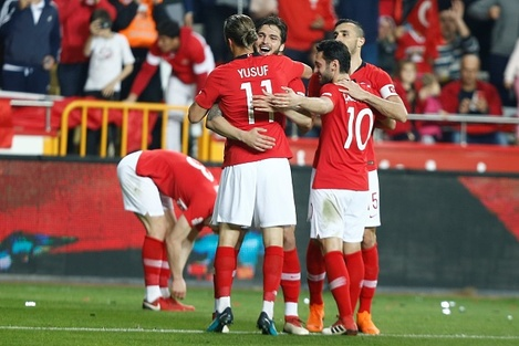 Turkey vs Ireland: Friendly match