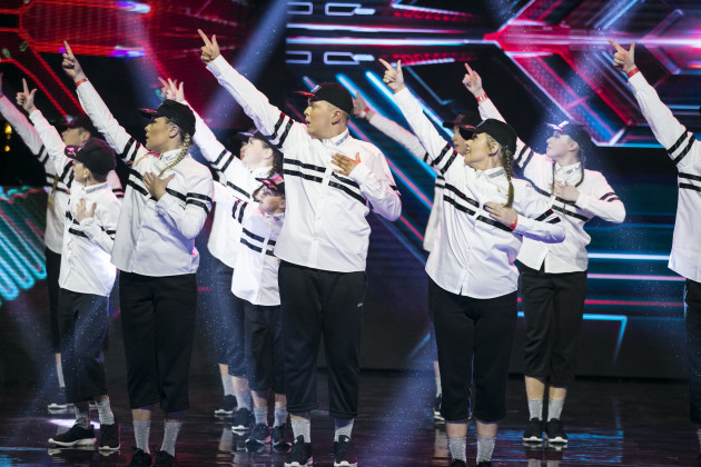 RDC during the Final in Irelands Got Talent in The Helix. kobpix/NO FEE