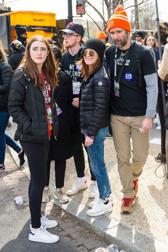 March For Our Lives Celebrity Sightings in Washington, D.C. - March 24, 2018
