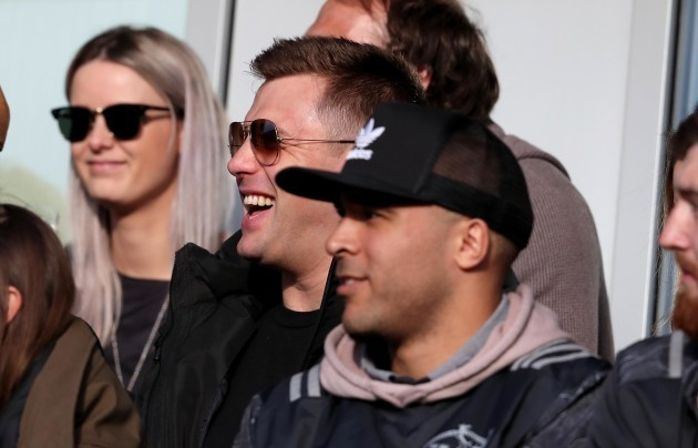 CJ Stander at the game