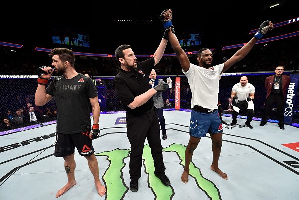 UFC 219: Condit v Magny