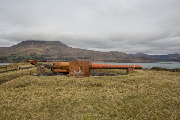Lonehort Battery on Bere Island 1