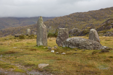 Standing Stones at Cashelkeelty