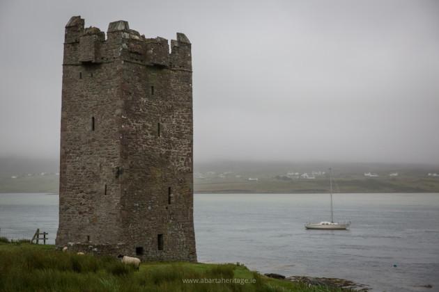 Achill Island 4 Kildavnet Castle
